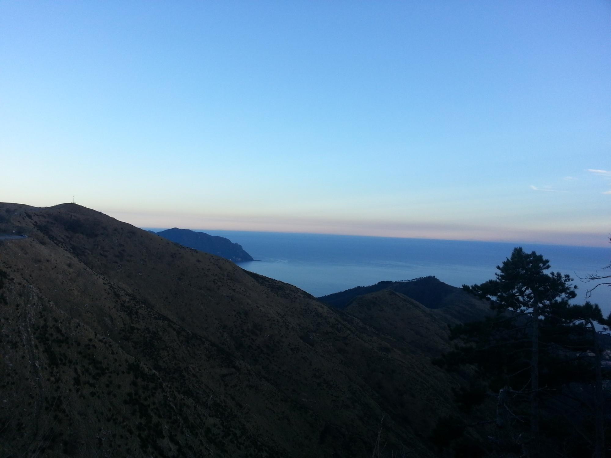 Monti del Golfo Paradiso sopra Uscio Ge